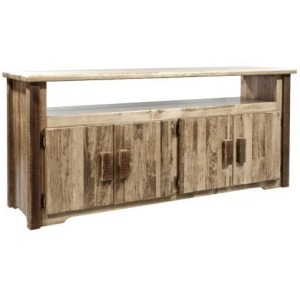 Homestead Television Stand - Stain & Lacquer Finish