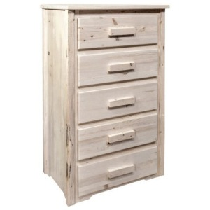 Homestead 5 Drawer Chest of Drawers - Dovetailed & Lacquered