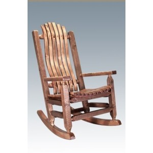 Homestead Rocking Chair - Stained and Lacquered