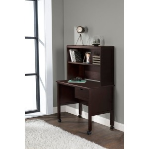 Schoolhouse 4.0 Desk & Hutch - Chocolate
