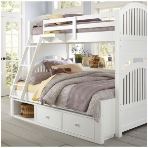 Adrian Twin/Full Bunk Bed