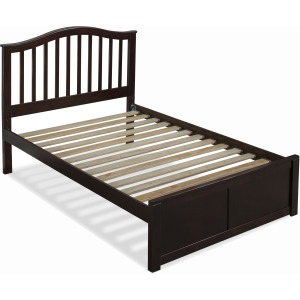 Schoolhouse 4.0 Finley Full Arch Spindle Platform Bed - Chocolate
