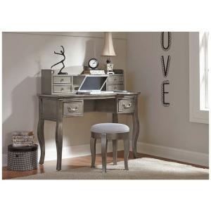 Kensington Desk Antique Silver