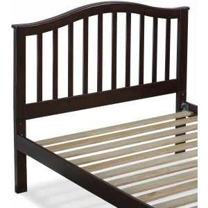 Schoolhouse 4.0 Finley Full Arch Spindle Headboard - Chocolate
