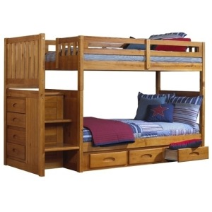 Mission Stair Bunk Honey:Collection