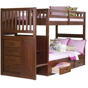 Mission Stair Bunk Merlot:Collection