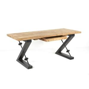 Zoey Desk Natural / Iron