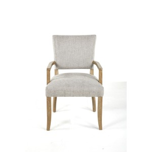 Ariana Dining Arm Chair Grey / Anew Grey