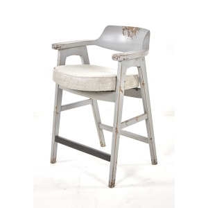 Wagner Counter Chair Distressed Grey / Anew
