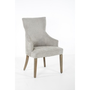 Lucy High Back Dining Chair Grey Washed / Anew Grey