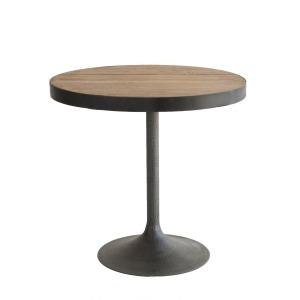 Miranda Large End Table Natural / Iron
