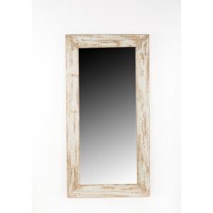 Santa Barbara Leaner Mirror Antique Grey