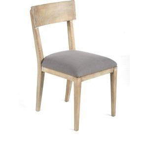 Molly Dining Chair Medium Grey / Grey Cushion