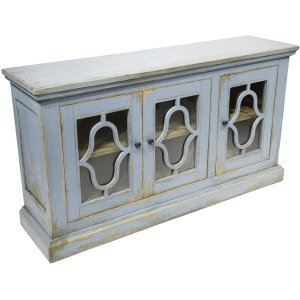 Savanna Cabinet Shiny Antique Refuge