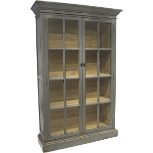 Apollo Library Cabinet Antique Pepper