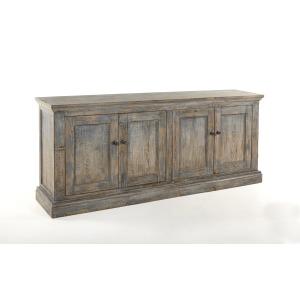 Mimi 4 Door Cabinet Antique Blue
