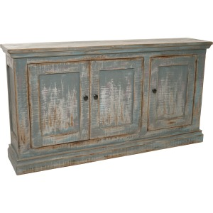 Mimi Shallow Sideboard Antique Grey Blue
