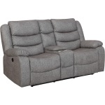 Granada Console Loveseat w/power Foot Rest