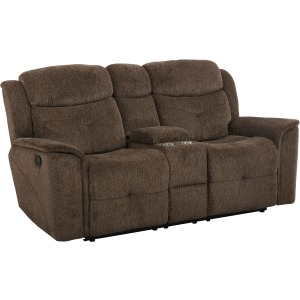 Havana Console Loveseat w/Power Foot Rest