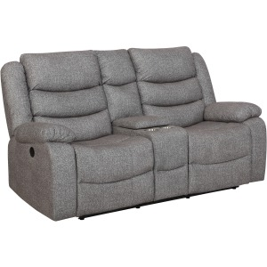 Granada Power Reclining Loveseat w/ Console