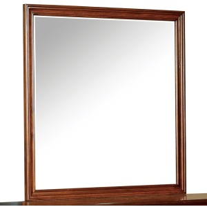 Tamarack Mirror - Brown Cherry