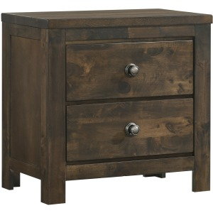 Blue Ridge Nightstand - Rustic Gray