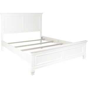 Tamarack Queen Panel Bed - White