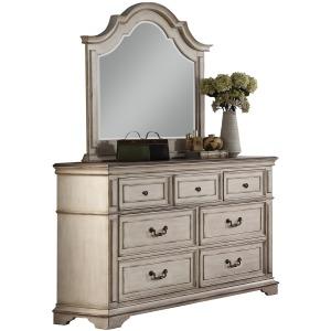 Anastasia Dresser & Mirror