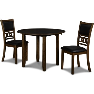 Gia Dropleaf Table & 2 Chairs