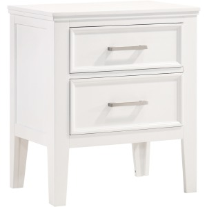 Andover Nightstand - White