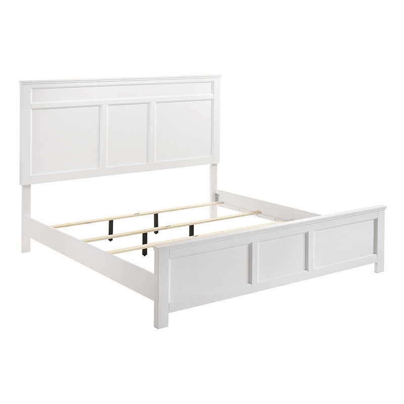 Andover Queen Headboard Footboard, White Queen Bed With Headboard And Footboard