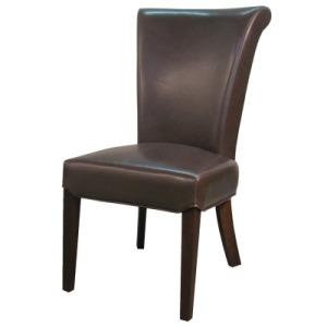 Bentley Bonded Leather Chair - Mocha