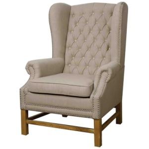 Graham Fabric Arm Chair, Khaki