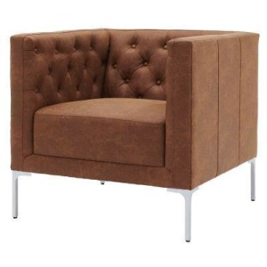 Johnson KD Fabric Tufted Accent Arm Chair