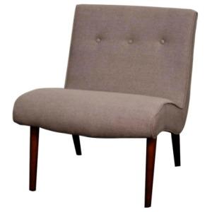 Alexis Fabric Chair, Gunmetal