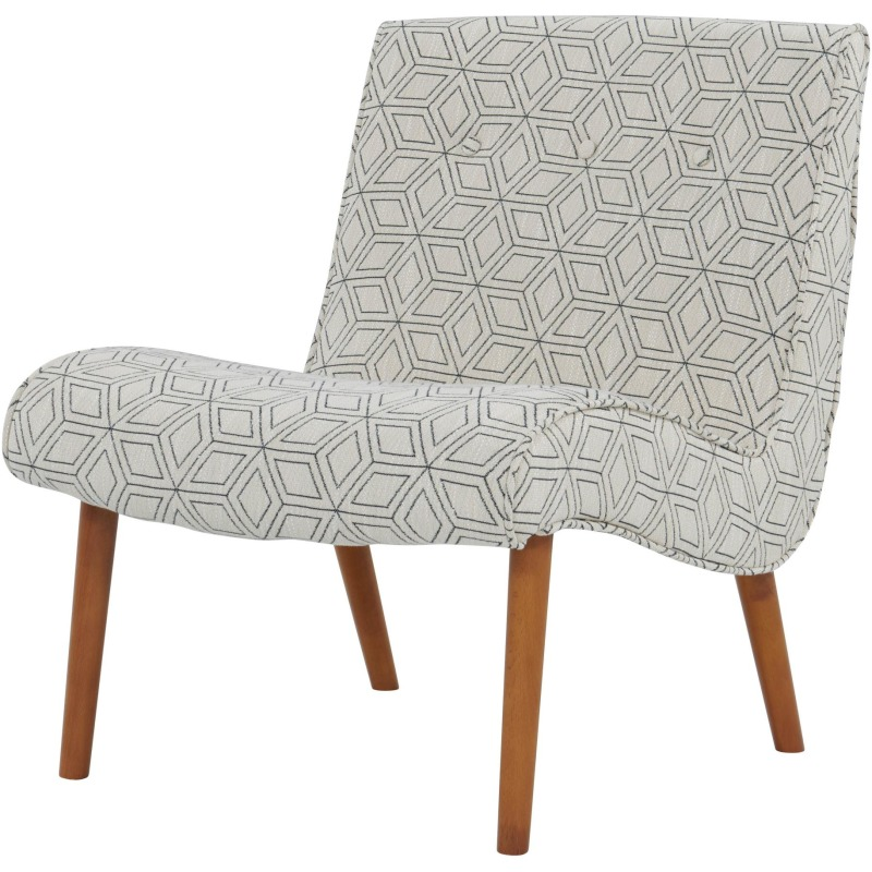 Alexis Fabric Chair Amber Legs By New Pacific Direct
