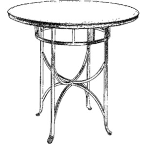 Sonoma Bistro Table - Bar Height