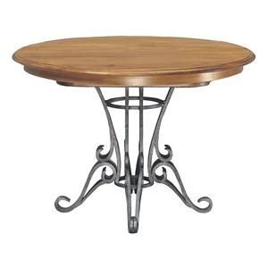 Ironwood Pedestal Table