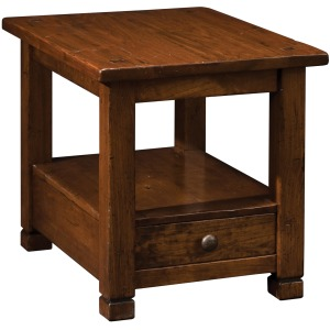 American Rustic End Table