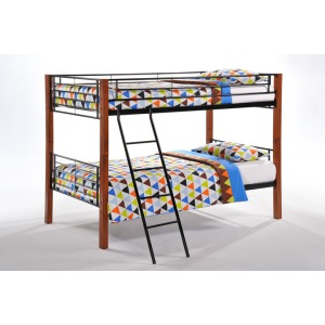 Dandelion Twin Twin Bunk in Cherry