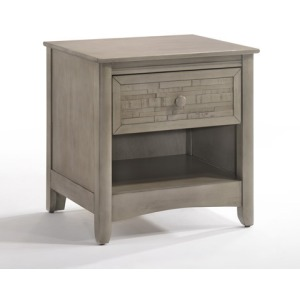 Cape Cod Secrets Nightstand in Gray Wash