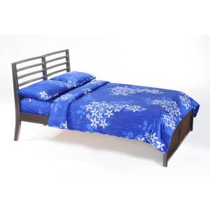 Jasmine Queen Bed in Dark Chocolate