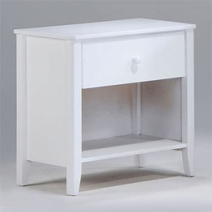 Zest Nightstand in White