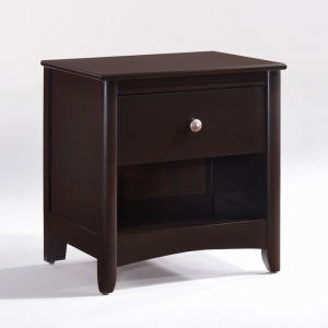 Secrets Nightstand in Dark Chocolate