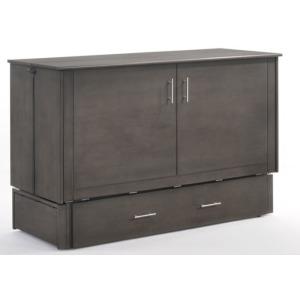 Sagebrush Murphy Cabinet Bed - Stonewash