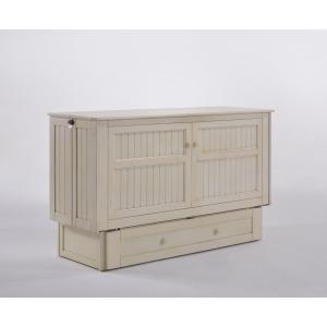 Daisy Murphy Cabinet Bed - Buttercream Finish