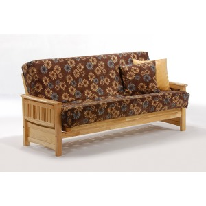 Sunrise Full Glider Futon - Natural