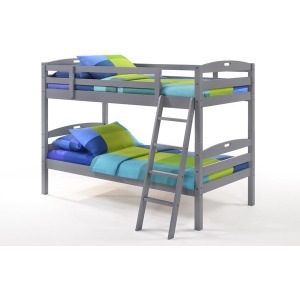 Sesame Twin Twin Bunk Bed