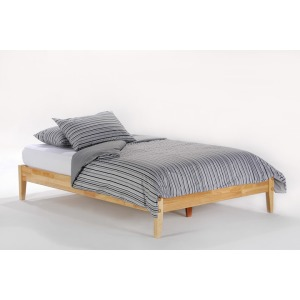 P-Series Queen Basic Bed in Natural