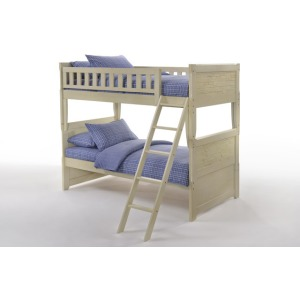 Cape Cod Dolphin Twin Twin Bunk in Buttercream